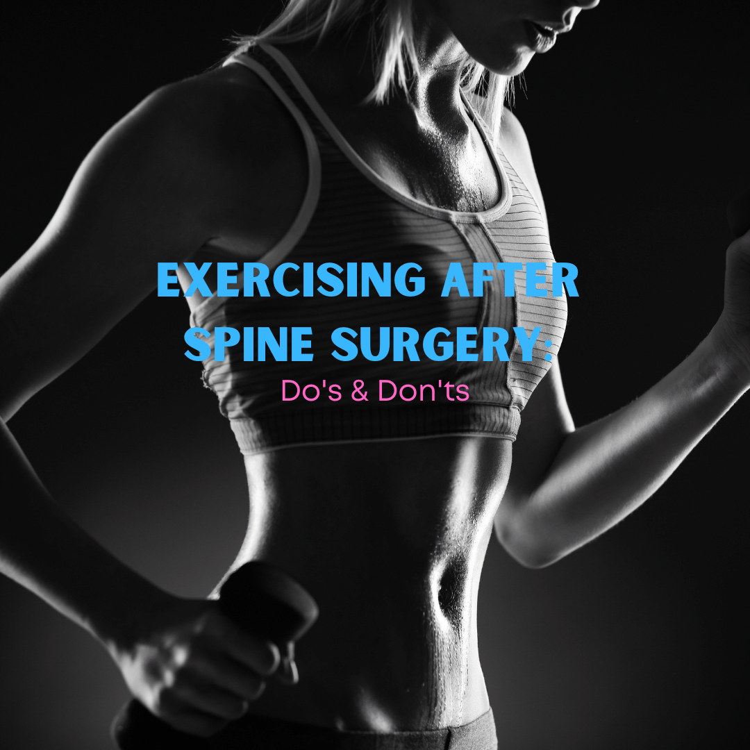 Exercising After Spine Surgery