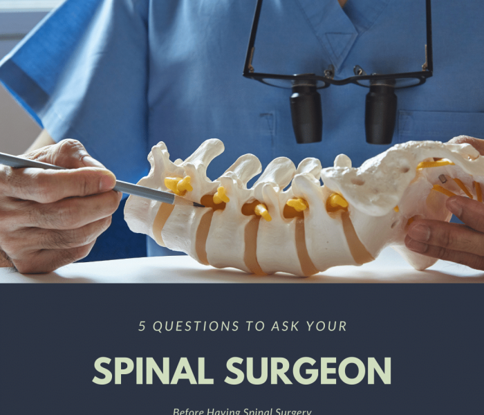 5 questions to ask your spinal surgeon