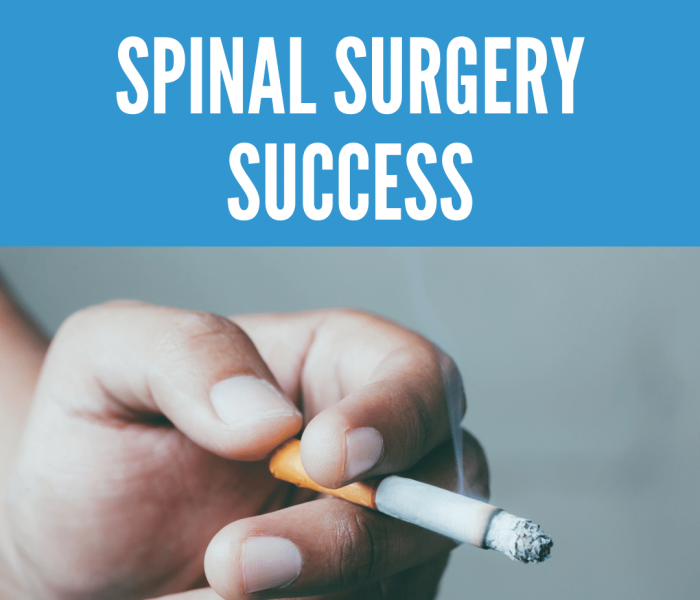 Lifestyle Factors that can affect spinal surgery success